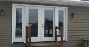 Full lite patio doors and side-lites